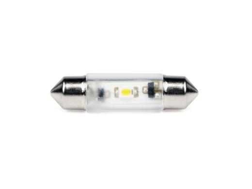 LED-Soffitten Lampe Ø8x31mm (15/18V) gelb