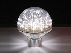LED Deco-Lampe weiss IP65