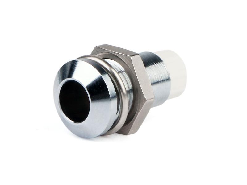 RTM 5010 LED-Fassung mit Außenreflektor, glanzchrom, für LEDs Ø5mm