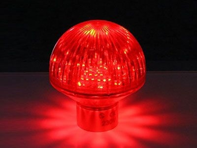 LED Deco-Lampe rot IP65