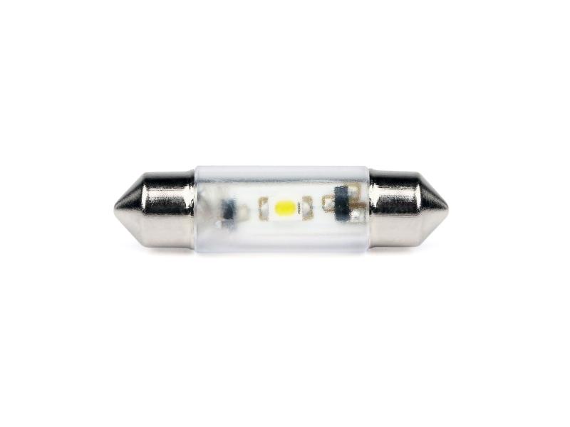 LED-Soffitten Lampe Ø8x31mm (12/14V) blau