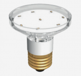 QLBE27 LED Lampe 12-Chip 24/28V DC