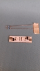 LED-Platine 2-Chip 12/14V AC/DC BLAU leuchtend