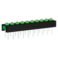 Mini-Line LED-Zeile 8-fach Grün