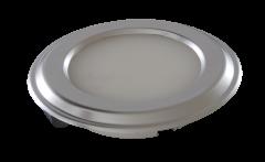LED-Spot Silux® , superflach, weiss 4.500K 12V, Dekoring weiss