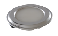 LED-Spot Silux® , superflach, weiss 4.500K 12V, Dekoring schwarz